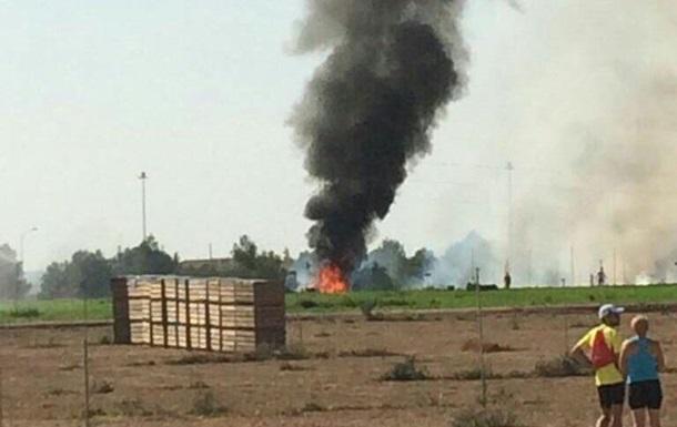 В Іспанії розбився винищувач Eurofighter