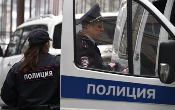 В Москве забросали дымовыми шашками офис НАТО