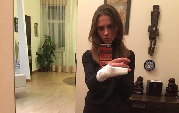 Киевских патрульных обвиняют в жестоком задержании женщины