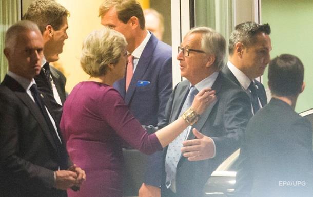 Мей і Юнкер домовилися активізувати переговори щодо Brexit