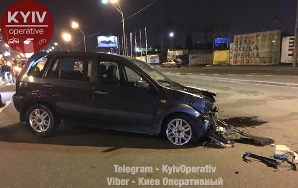 У Києві підпитий поліцейський спровокував ДТП