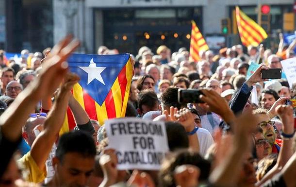 В Испании арестовали глав каталонских организаций
