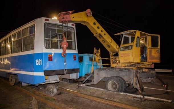 В Днепре у трамвая на ходу отвалился мотор - СМИ