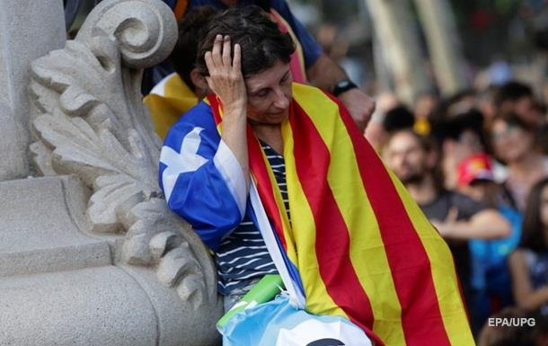 Из Каталонии уходят сотни компаний