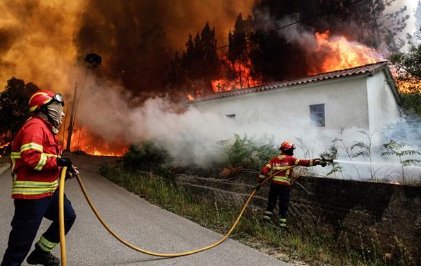 Число жертв лесных пожаров в Португалии превысило 40