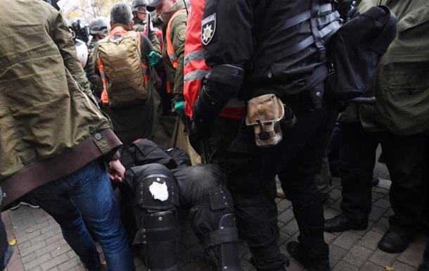 Мітинг під Радою: четверо постраждалих