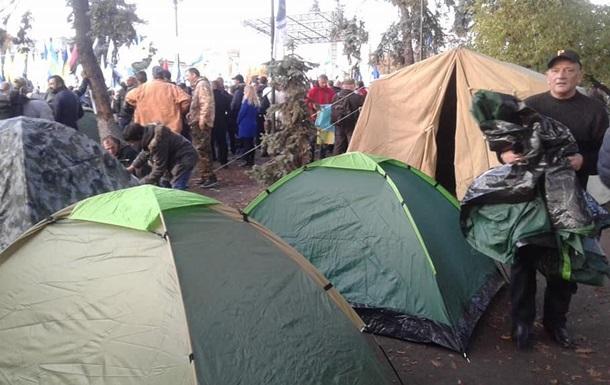 СМИ: Под Радой – около 200 протестующих