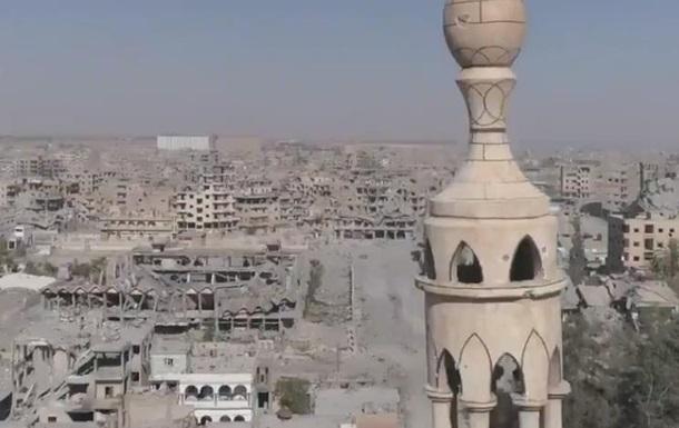 СNN показал руины освобожденной от ИГ Ракки