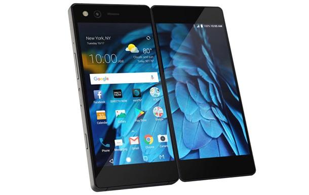 Выпущен смартфон- раскладушка  с двумя экранами