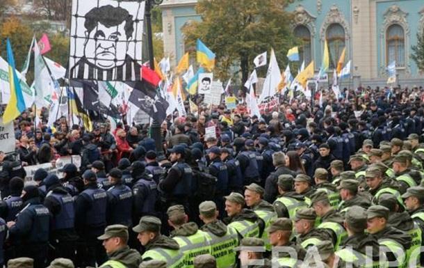 Мини бунт как символ безучастного общества
