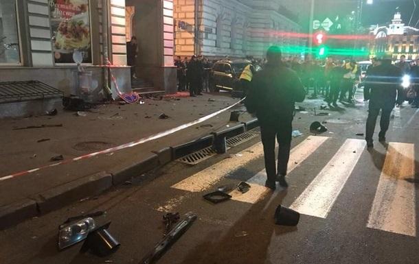 ДТП в Харькове: Водитель Lexus участвовала в гонках