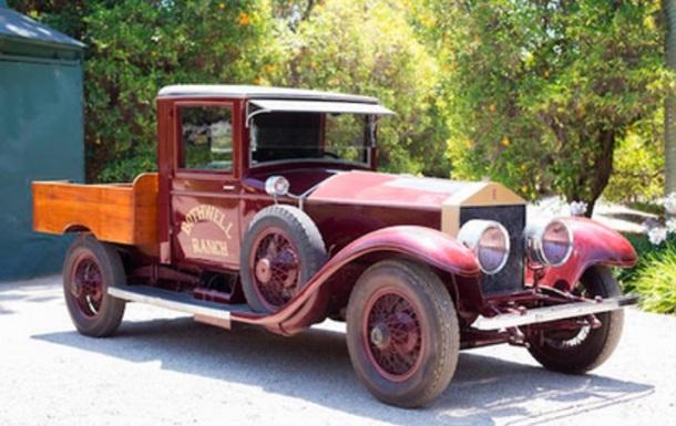 Единственный в мире пикап Rolls-Royce пустят с молотка