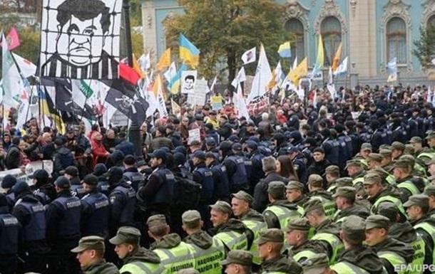 Протесты под Радой: идет большая игра