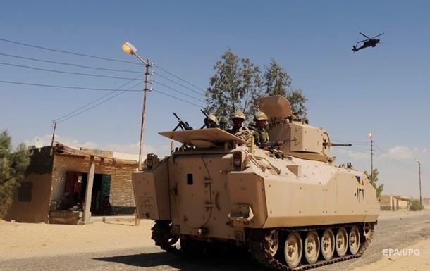 У сутичках з бойовиками в Єгипті загинули 54 силовики