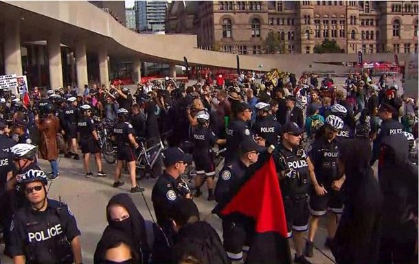 У Канаді протестували проти прем єра Трюдо
