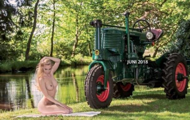 Немецкие трактористки разделись для календаря
