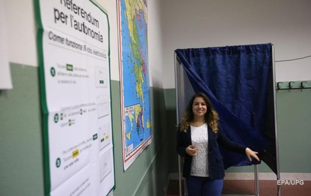 У двох регіонах Італії відбулися референдуми про автономію