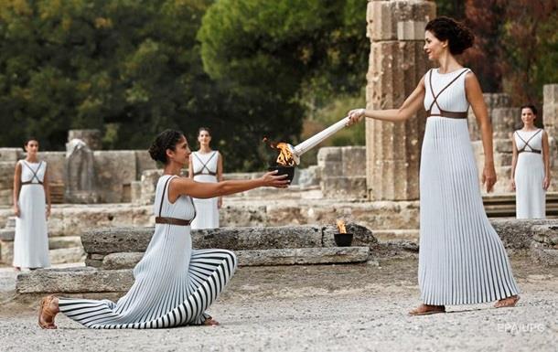 В Греции отрепетировали зажжение огня зимней Олимпиады