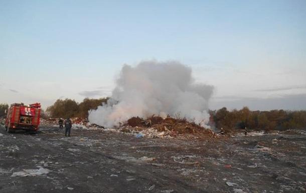 Пожар возле аэропорта Борисполь ликвидировали