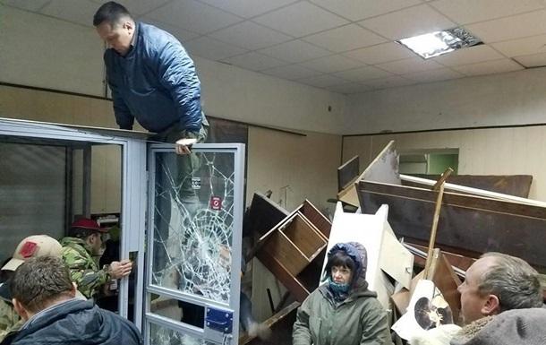 Погром в Святошинском суде: активистам объявили о подозрении