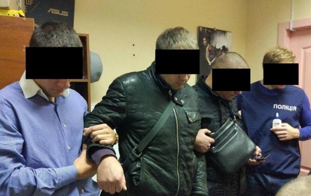 В Каменском двух правоохранителей задержали на взятке в полмиллиона