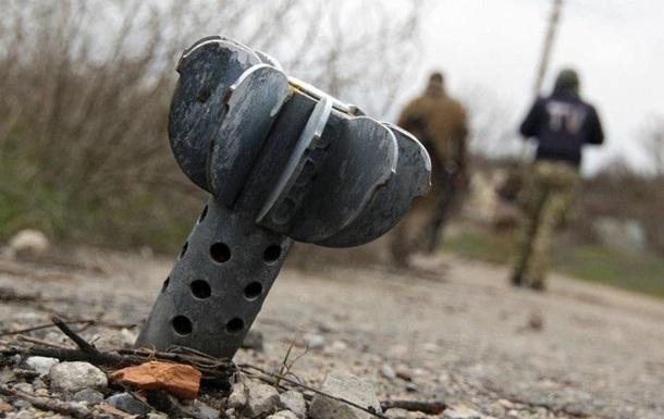 Українські позиції в зоні АТО обстріляли з Градів