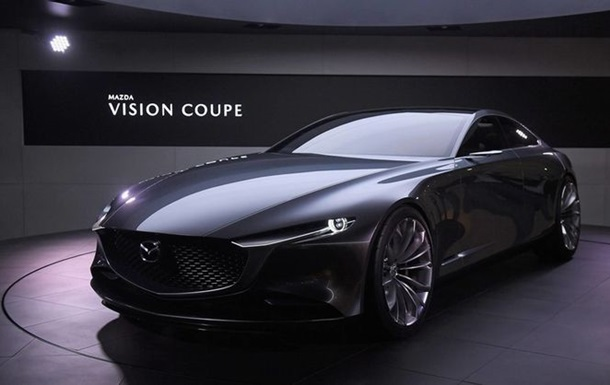 Mazda показала концептуальний седан Coupe