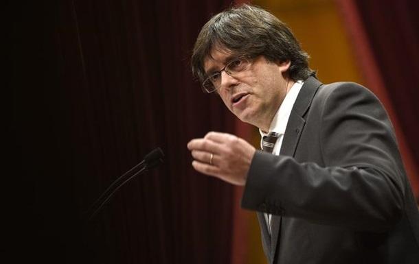 ЗМІ: Глава Каталонії збирається оголосити дострокові місцеві вибори