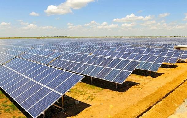 Во Львовской области запустили солнечную электростанцию