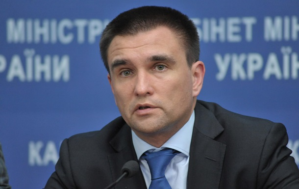 Клімкін: Потрібні нові санкції проти Росії