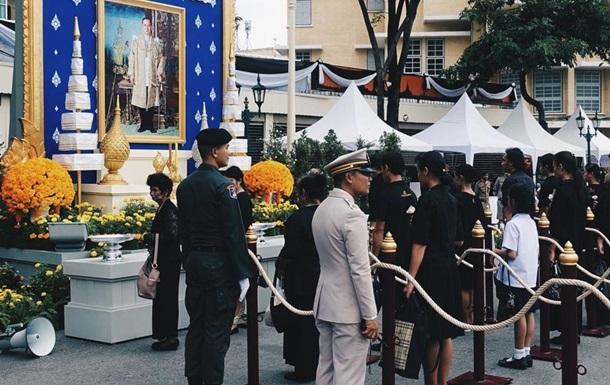 На похоронну церемонію короля Таїланду зібралося понад 300 тисяч осіб