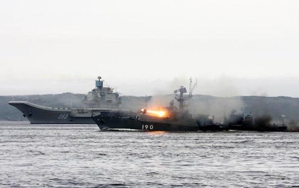 Російські кораблі випробували ракетну зброю в Арктиці