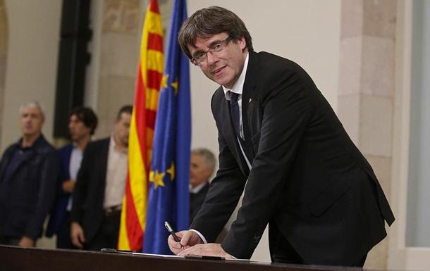 Іспанія відправила Пучдемона у відставку