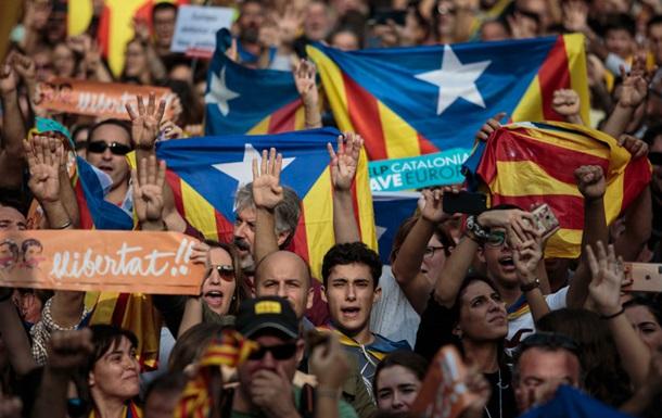 Корсика поддержала независимость Каталонии