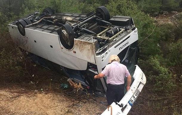 У Туреччині перекинувся автобус з туристами з Японії, є жертви