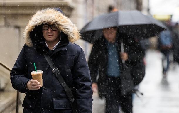 Тиждень почнеться з дощів і мокрого снігу
