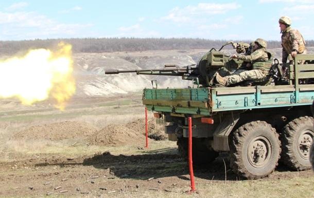 У зоні АТО 15 обстрілів, один боєць поранений - штаб