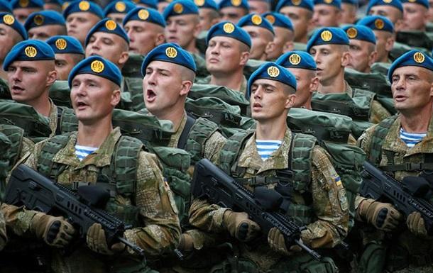 Українські десантники відмовилися від блакитних беретів