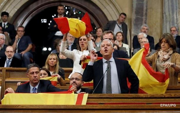 Парламент Каталонії погодився на свій розпуск