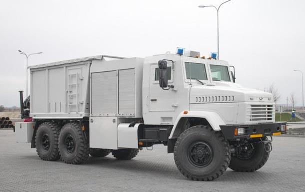 В Украине создали бронированую машину для пиротехников