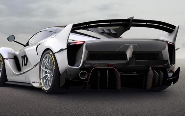 Ferrari показала 1050-сильный трековый суперкар