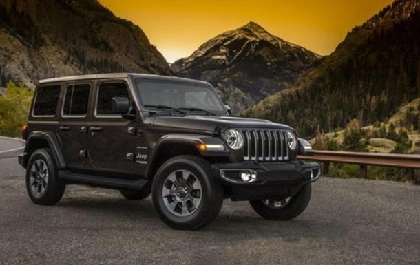 Jeep Wrangler 2018: фото