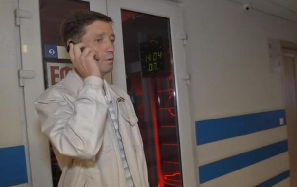 До затриманого в Росії Гриба не пустили батька