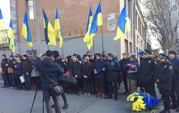 Запорожцы почтили память жертв сталинских репрессий