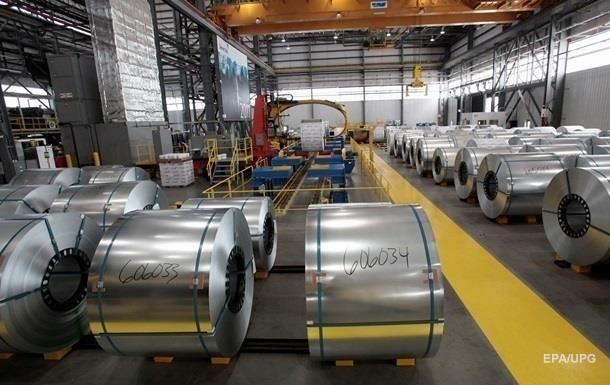В Україні впало виробництво сталі