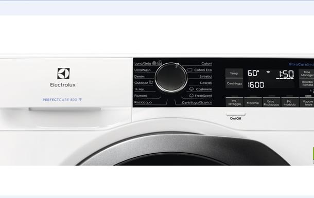 Серия стиральных машин Electrolux PerfectCare обеспечивает улучшенный уход за од