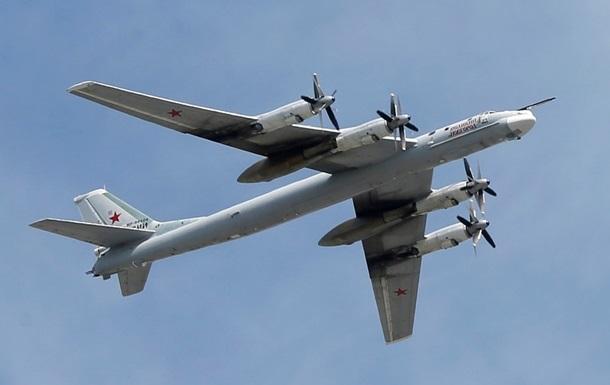 Американські ВПС перехопили російські бомбардувальники в Японському морі