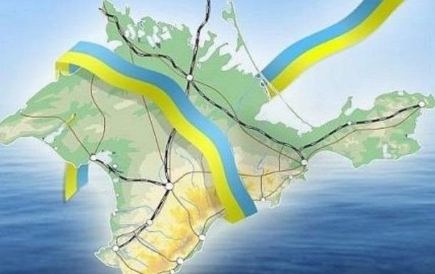Анонс повернення Криму