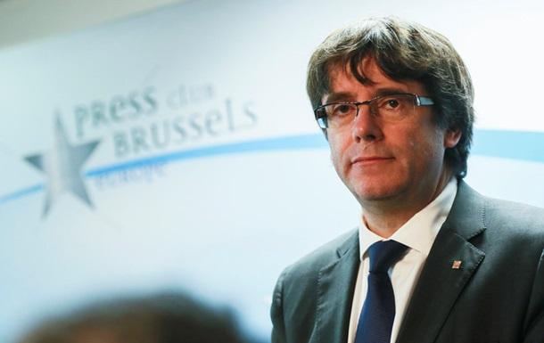 Бельгія отримала ордер на арешт Пучдемона