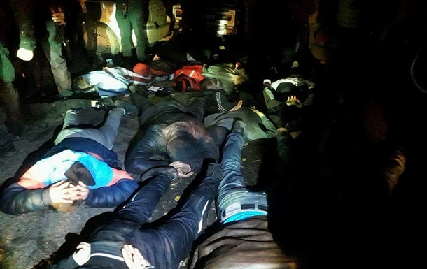 У Полтавській області затримали більше 40 рейдерів
